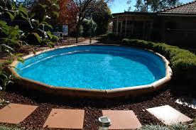 Ideas Semi Inground Pool Ideas For Exciting Backyard Design