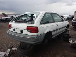 hatchback cars 1980s junkyard find 1988 mercury tracer hatchback the truth about cars
