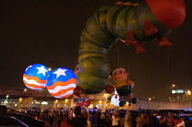 Lighted Balloons Lighted Helium Spheres Patriotic Giant Advertising Balloons