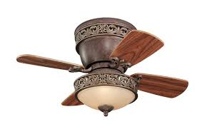 victorian ceiling hugger fans with lights and remote modern