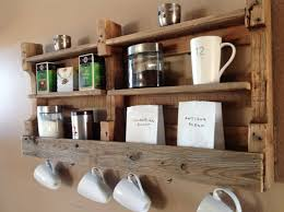 Kitchen Storage Shelves by Reclaimed Wood Coffee U0026 Tea Shelf Sale Was 99 00 Now 89 00 89 00