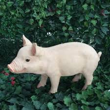 black spotted white pigs garden products home decorations