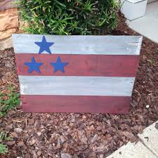 Pallet American Flag Acrylic Paint The Crafty Campbell
