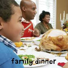 family at thanksgiving dinner bright baby happy thanksgiving roger priddy macmillan