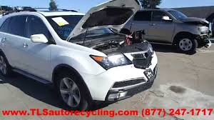 parting out 2010 acura mdx stock 4109pr tls auto recycling