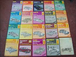 haynes car manuals u0026 cool books loads retro rides