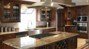 Granite Countertops With Cherry Cabinets Kitchen Room 2017 Dark Cabinets In Small Kitchen Dark Cherry