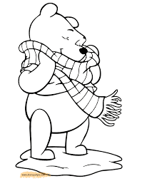 winnie the pooh printable coloring pages 5 disney coloring book