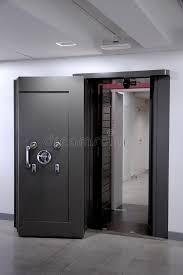 chambre forte trappe de chambre forte de côté coffre fort en acier inoxydable