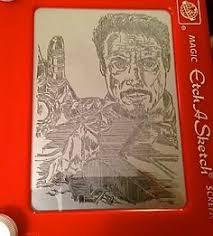 15 pieces of astounding high quality etch a sketch art