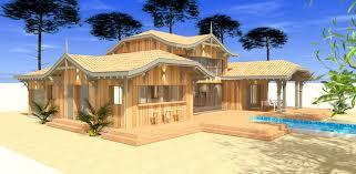 Maison En Bois Cap Ferret Construction D U0027une Maison Bois Traditionnelle Avec Studio A La