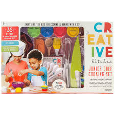 kids kitchen knives creative kitchen junior chef 35 piece cooking set