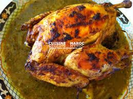 cuisiner le poulet volailles recettes de volailles poulet cuisine marocaine