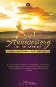 church anniversary program cover template pastor anniversary