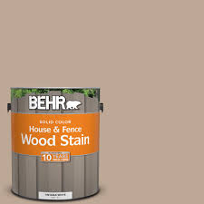 behr 1 gal sc 109 wrangler brown solid color house and fence