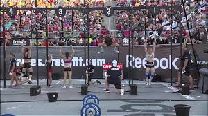 2012 crossfit games chipper individual women heat 3 youtube