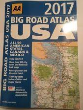 aa road map usa usa road atlas ebay