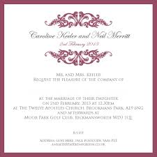 exles of wedding ceremony programs wedding invitation wording sles from and groom style