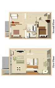Three Bedroom Townhouse Apartments In Trotwood Ohio Floor Plans