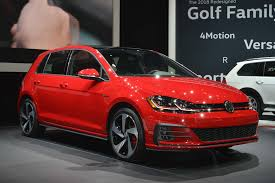 golf volkswagen gti u s spec 2018 volkswagen golf revealed ahead of new york motor