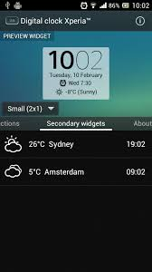 digital clock widget apk digital clock widget xperia 1mobile