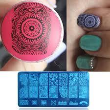 aliexpress com buy 1pcs bc10 nail art stamping plates fashion