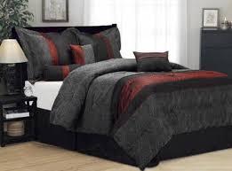 Black Comforter King Bedding Set Great Black And White Comforter Set For King Sized