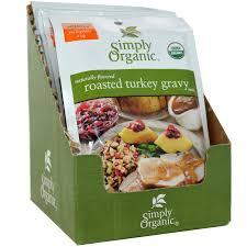 turkey gravy mix simply organic roasted turkey gravy mix 12 packets 0 85 oz 24