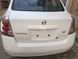 white nissan sentra 2006 2007 immaculate white tokunbo nissan sentra for 1 3m autos nigeria