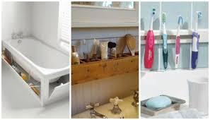 clever bathroom storage ideas diy bathroom storage ideas 20 best bathroom organization ideas