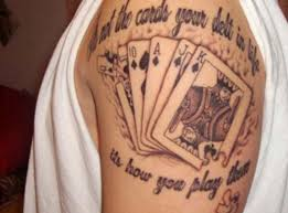 card tattoo designs and meaning