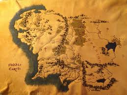The Hobbit Map Middle Earth Map By Twowolveskm On Deviantart
