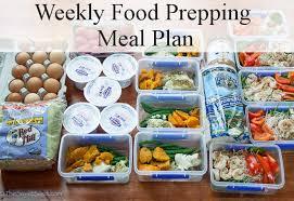 food prep meals weekly food prepping meal plan 2the sweet seed