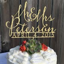 name cake toppers mr and mrs cake topper custom wedding cake topper last name