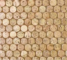 corkdotz brown mosaic tile cork stoppers installation