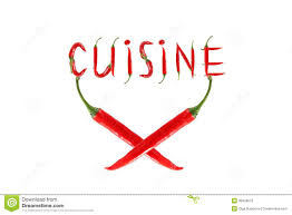 word for cuisine chili pepper isolated word cuisine stock image image of