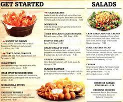joes crab shack joe s crab shack menu menu for joe s crab shack travis heights