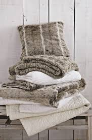 Cosy Cushions Faux Fur Bed Throws Cushions U0026 Accessories At Bedeck 1951