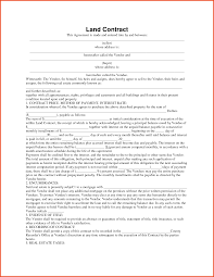 Free Real Estate Contract Templates by Land Contract Forms Contract To Sell On Land Contract2 Jpg
