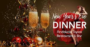 new years events in houston new year new years houston dinner andalucia tapas restaurant