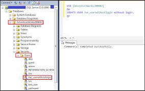 Social Tables Login Use Of U003c Sql User Without Login U003e