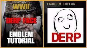 Meme Emblem - bo3 m3rkmus1c derp face emblem tutorial