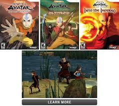 avatar airbender games