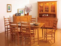 Shaker Style Dining Table And Chairs Other Remarkable Shaker Dining Room Inside Other 3 Door Hutch