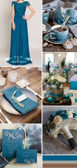 teal wedding seven blue wedding color ideas and bridesmaid dresses