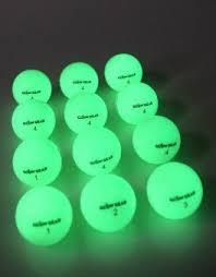 glow balls glow v2 the hitting golf in golf
