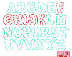 monogram machine embroidery applique design script letters big