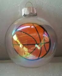 personalized photo basketball ornament click on photo to purchase