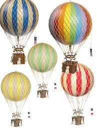 heißluftballon kinderzimmer ballon modell ballon set royal aero alle farben ø 32 cm chron