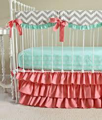 Gray Chevron Crib Bedding Nursery Beddings Grey Chevron Bedding Outfitters In
